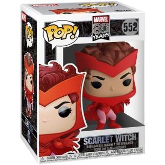 Figurine Funko Pop Scarlet Witch - Marvel 80ème anniversaire N°552