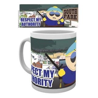"""Mug Cartman """"Respecte mon autorité"""" - South Park"""