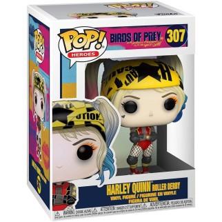 Figurine Funko Pop Harley Quinn en roller - Birds Of Prey N°307