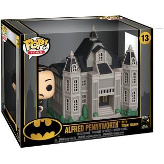 Figurine Funko Pop Manoir Wayne avec Alfred - 80ème anniversaire de Batman N°13