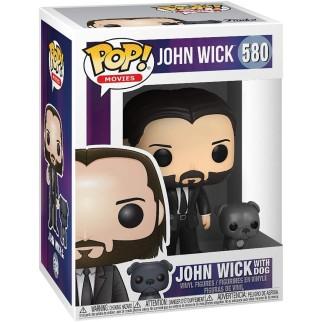 Figurine Funko Pop John avec son chien - John Wick N°580