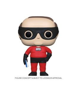 Figurine Funko Pop Kevin en Super-héros de Dunder Mifflin - The Office