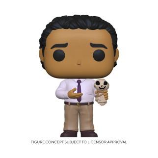 Figurine Funko Pop Oscar avec une poupée épouvantail  - The Office