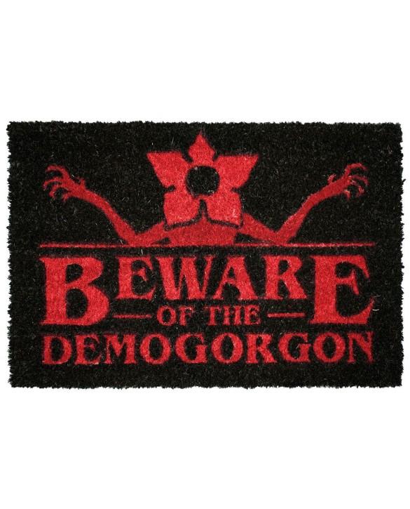 "Paillasson Stranger Things ""Beware Of The Demogorgon"""