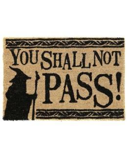 """Paillasson Seigneur des Anneaux """"You Shall Not Pass"""""""