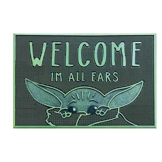 "Tapis en caoutchouc The Mandalorian ""Welcome I'm All Ears"""