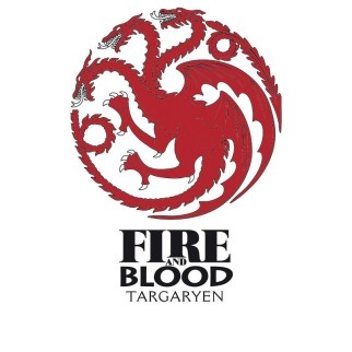 Verre Game of Thrones - Targaryen