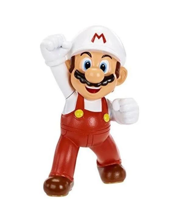 Mini Figurine Mario De Feu - Collection Nintendo