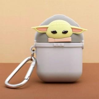 Étui en silicone pour AirPods - Baby Yoda The Mandalorian