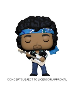 Figurine Funko Pop Jimi Hendrix (Live in Maui Jacket)
