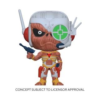 Figurine Funko Pop Iron Maiden - Eddie Somewhere in Time