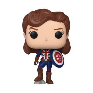Figurine Funko Pop Captain Carter - What If...? N°870
