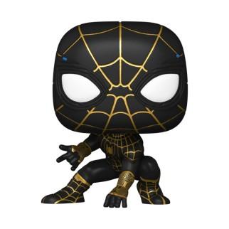 Figurine Funko Pop Spider-Man (Costume Noir et Or) - Spider-Man : No Way Home N°911