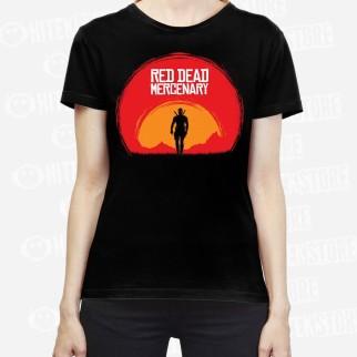 "T-Shirt ""Red Dead Mercenary"""