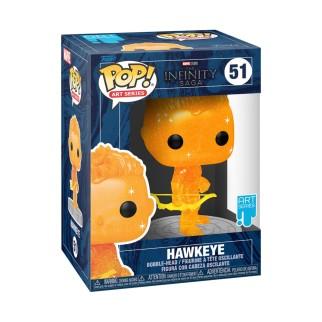 Figurine Funko Pop Hawkeye (Orange) Spécial Artiste - The Avengers N°51