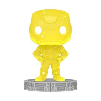 Figurine Funko Pop Iron Man (Jaune) Spécial Artiste - The Avengers N°47
