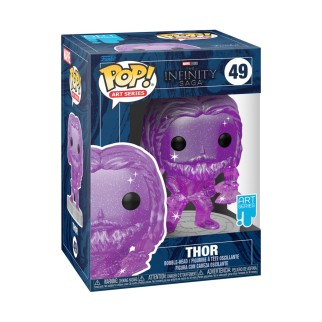 Figurine Funko Pop Thor (Violet) Spécial Artiste - The Avengers N°49