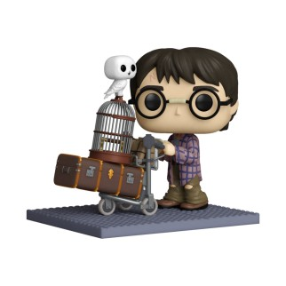 Figurine Funko Pop Deluxe Harry pousse son chariot - Harry Potter N°135