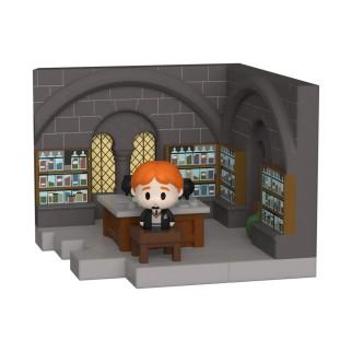 Figurine Funko Mini Moments Ron Weasley en Cours de Potion - Harry Potter