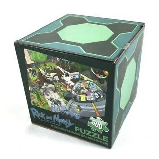 Puzzle 300 pièces Rick & Morty