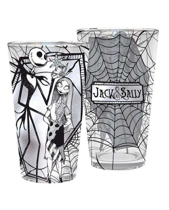 Verre XXL Jack & Sally - L'Étrange Noël de monsieur Jack