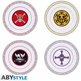 Set de 4 Assiettes - One Piece