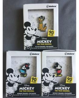 Pack de 3 Pins Disney - 90ans de Mickey