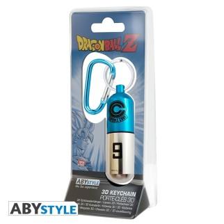 Porte Clé Mousqueton 3D Capsule Corp - Dragon Ball Z