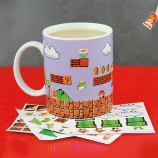 Mug Super Mario Bros DIY (avec stickers à personnaliser)