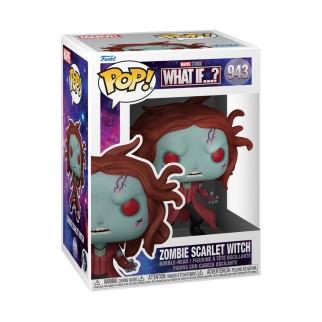 Figurine Funko Pop Zombie Scarlet Witch - What If..? N°943