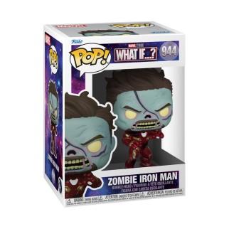 Figurine Funko Pop Iron Man en Zombie - What If..? N°944