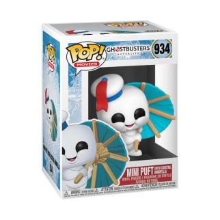 Figurine Funko Pop Mini Puft avec parapluie à cocktail - Ghostbusters : Afterlife N°934