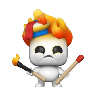 Figurine Funko Pop Mini Puft en feu - Ghostbusters : Afterlife N°936