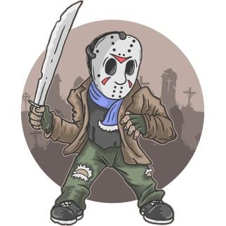 """T-Shirt """"Jason Halloween"""""""