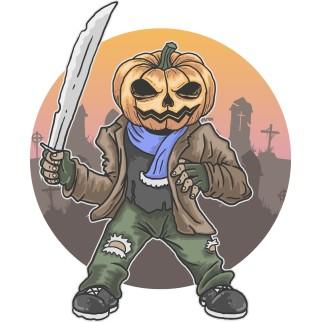 """T-Shirt """"Tête d'Halloween"""""""