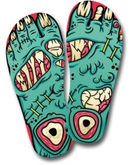 Tongs zombie (exclusifs Hitek)