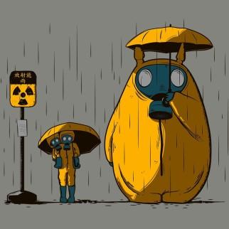 """T-Shirt """"Anime Fukushima"""""""