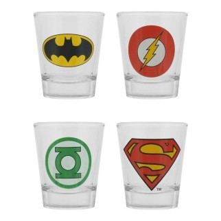 Shooters Justice League (lot de 4)