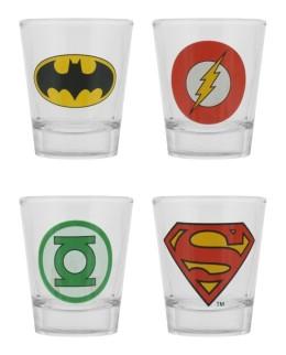 Shooters Justice League (lot de 4)