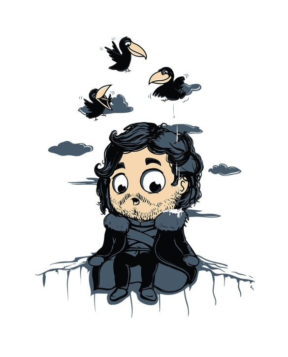 """T-Shirt """"King of Crows"""""""