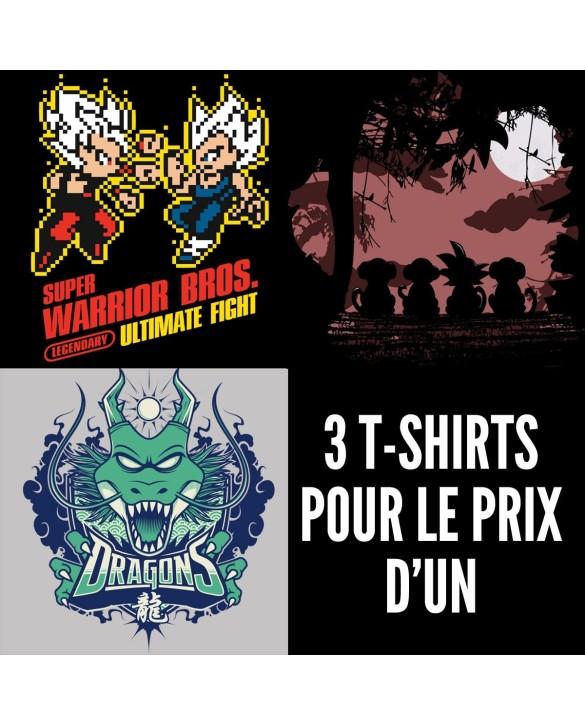 OFFRE PROMO : 3 t-shirts pour le prix d'1
