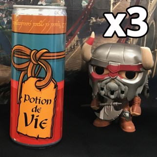 Potion de vie - Energy drink - EXCLUSIF  (pack de 3)