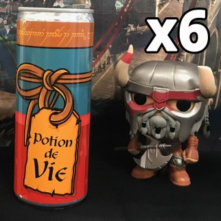 Potion de vie - Energy drink - EXCLUSIF  (pack de 6)