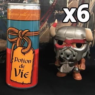 Potion de vie - Energy drink - EXCLUSIF  (pack de 6)