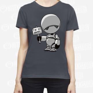 "T-Shirt ""I'm Happy"""