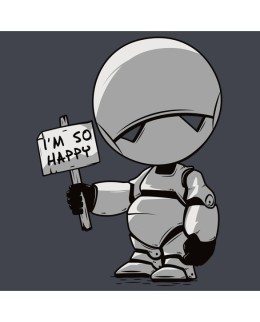"T-Shirt ""I'm Happy"""