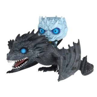 Figurine Pop Night King sur le dragon Viserion (Game of Thrones)