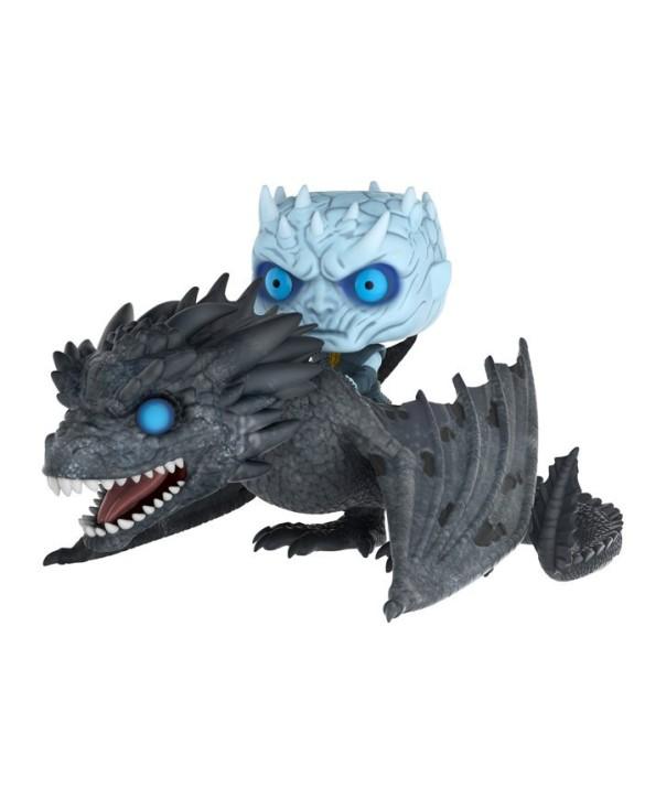 Figurine Pop Roi de la Nuit et dragon (Game of Thrones)