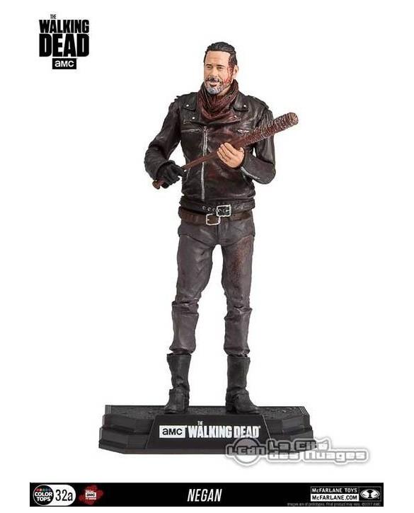 Figurine Negan avec du sang - The Walking Dead