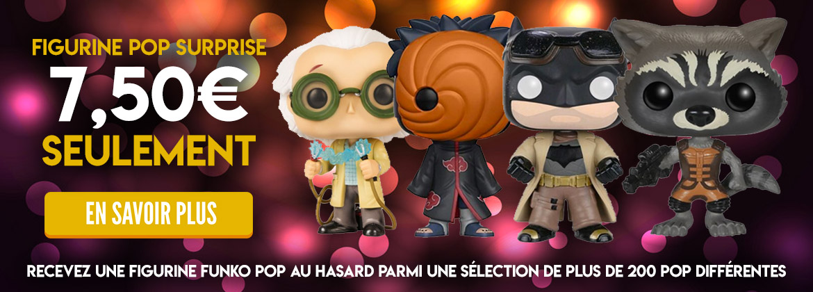Figurine Pop surprise à seulement 7,50€